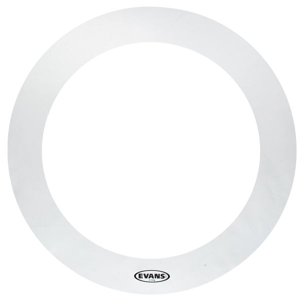 "Evans E-Ring 16"" Clear 2"
