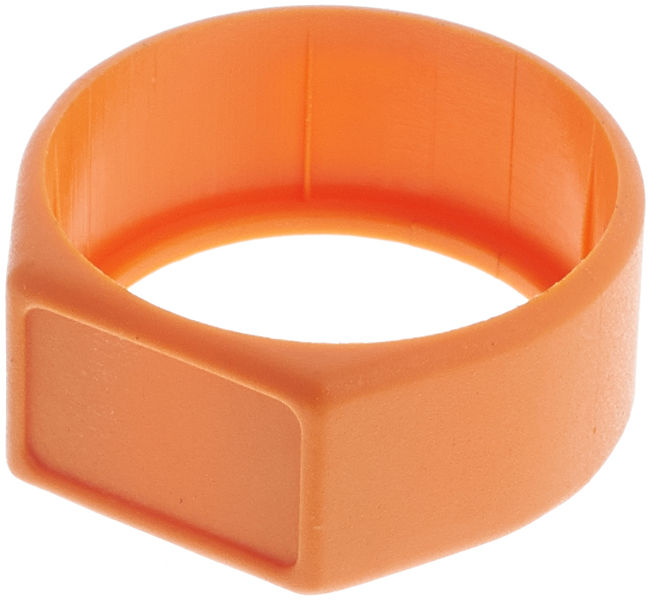 Neutrik XCR Ring Orange