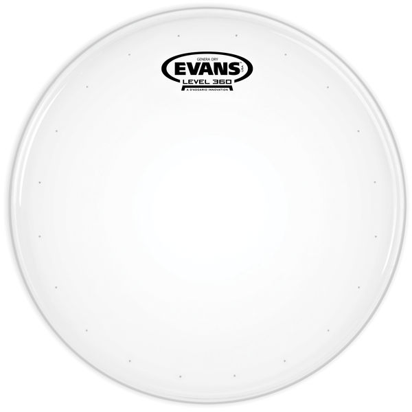"Evans 12"" Genera Dry Coated Snare"