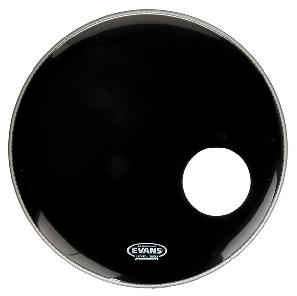 "Evans 20"" EQ3 Resonant Bass Drum BK"