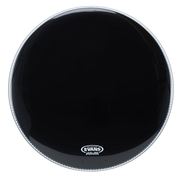 "Evans 22"" EQ1 Resonant Bass Drum BK"