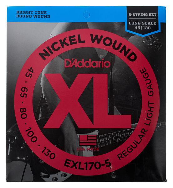 Daddario EXL170-5