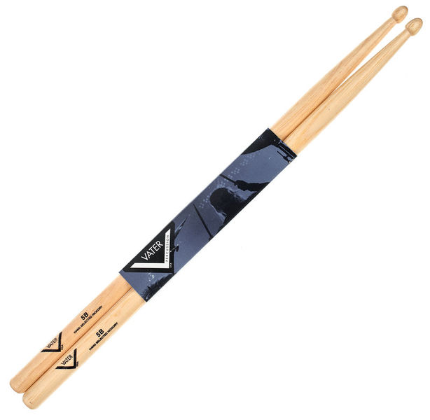 Vater 5B Drum Sticks Hickory Wood