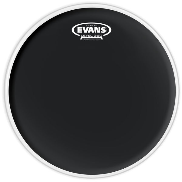 "Evans 13"" Hydraulic Black Tom"
