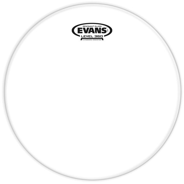 "Evans 12"" TomTom Resonant Head Clear"