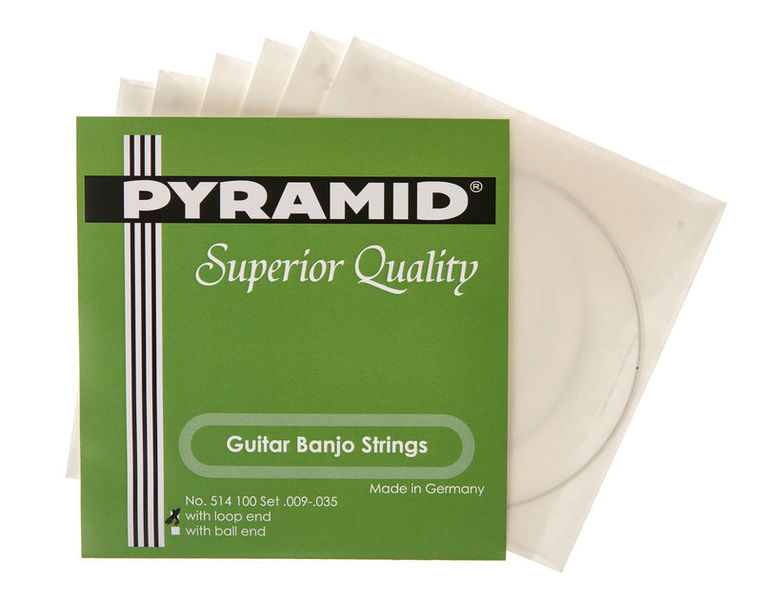 Pyramid Banjo 6-string Loop End