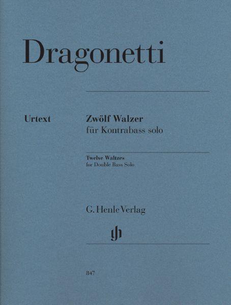 Henle Verlag Dragonetti Walzer Kontrabass