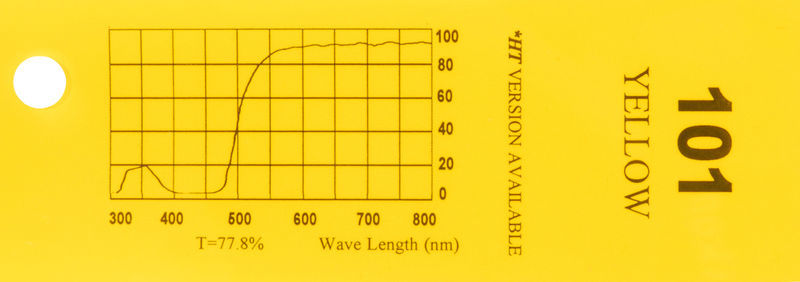Q-Max Filter Roll 101 Yellow