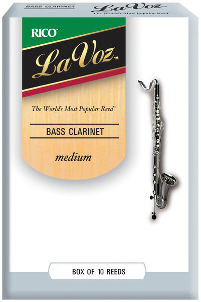 Daddario Woodwinds La Voz Bass Clarinet M