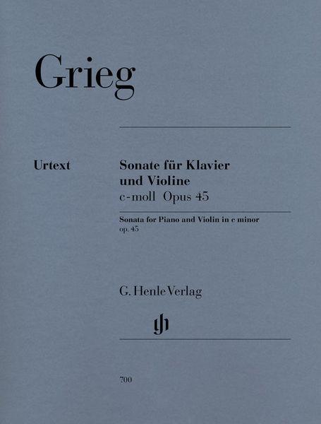 Henle Verlag Grieg Violinsonate c-moll