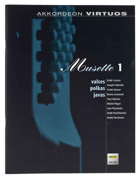 Holzschuh Verlag Accordion Virtuos Musette 1