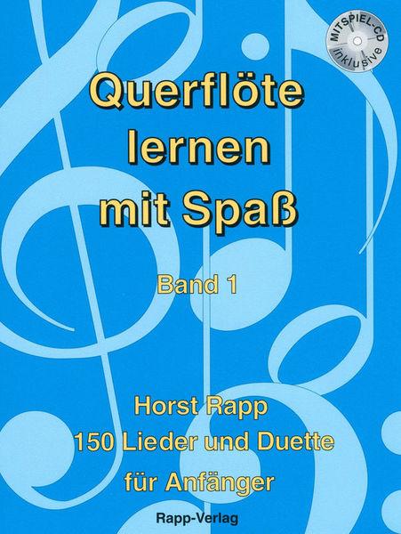 Horst Rapp Verlag Querflöte Lernen mit Spaß 1