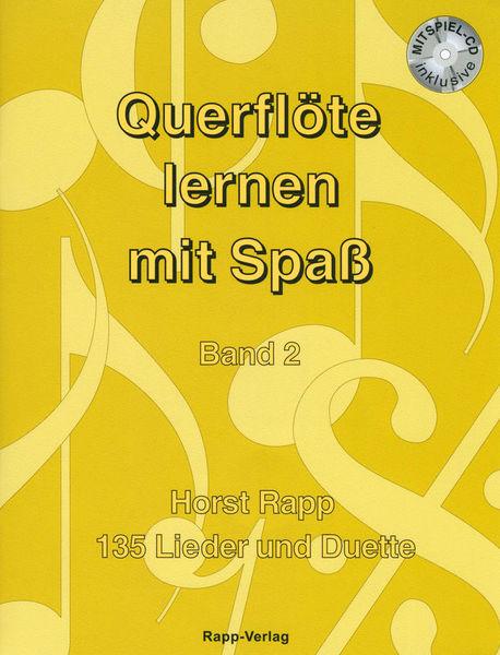 Horst Rapp Verlag Querflöte Lernen mit Spaß 2