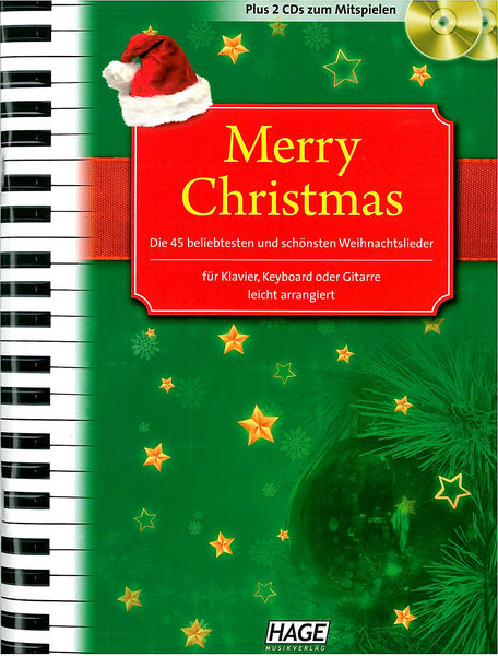Merry Christmas PVG +CD Hage Musikverlag