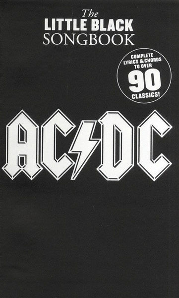 Music Sales AC/DC Little Black Songbook