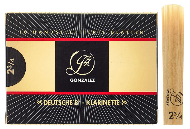 Gonzalez Clarinet Reed German 2,75