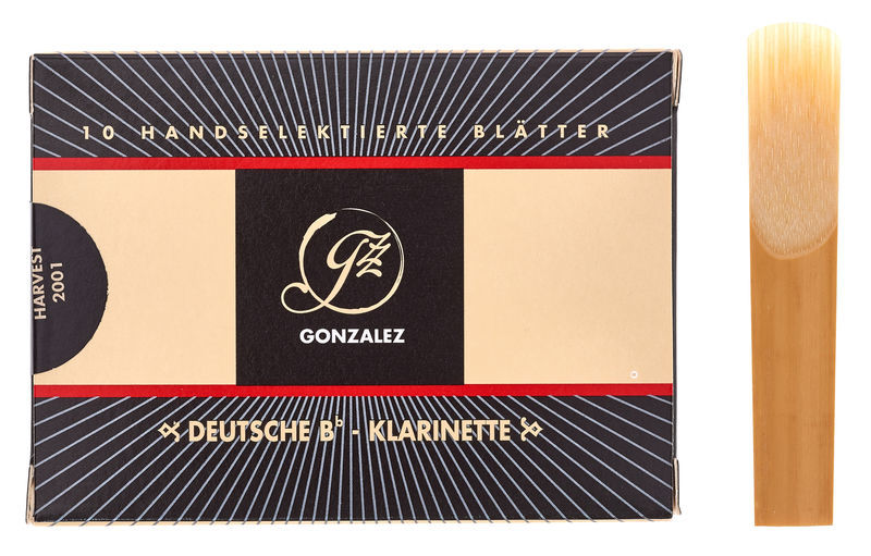 Gonzalez Clarinet Reed German 3