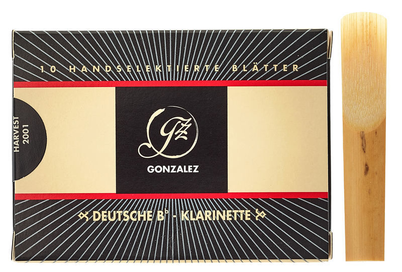 Gonzalez Clarinet Reed German 3,5