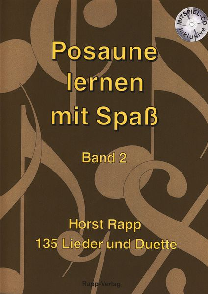 Horst Rapp Verlag Posaune lernen mit Spaß 2