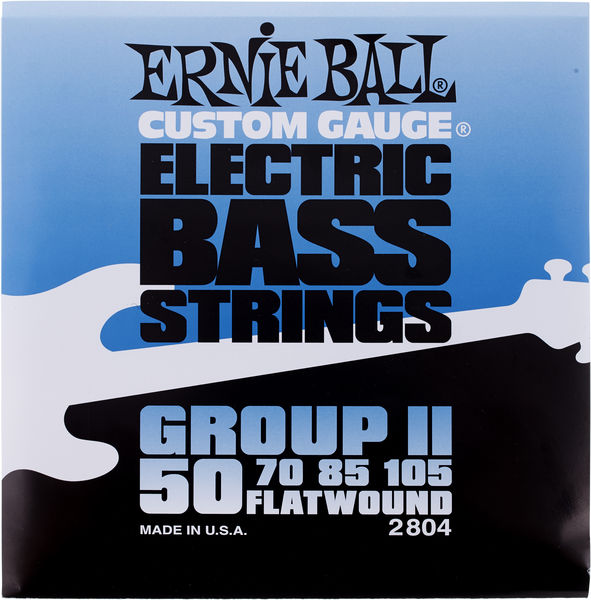 Ernie Ball 2804 Flatwound