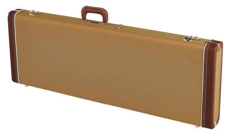 Fender C&G Dlx Strat/Tele Case Tweed