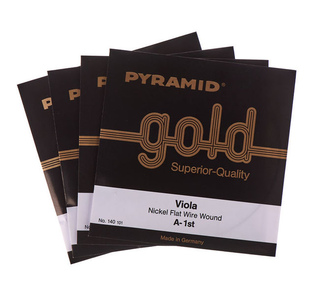 Pyramid Gold Viola Strings