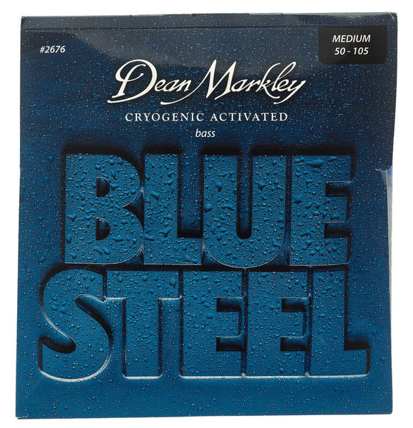 Dean Markley 2676 Blue Steel Bass MED