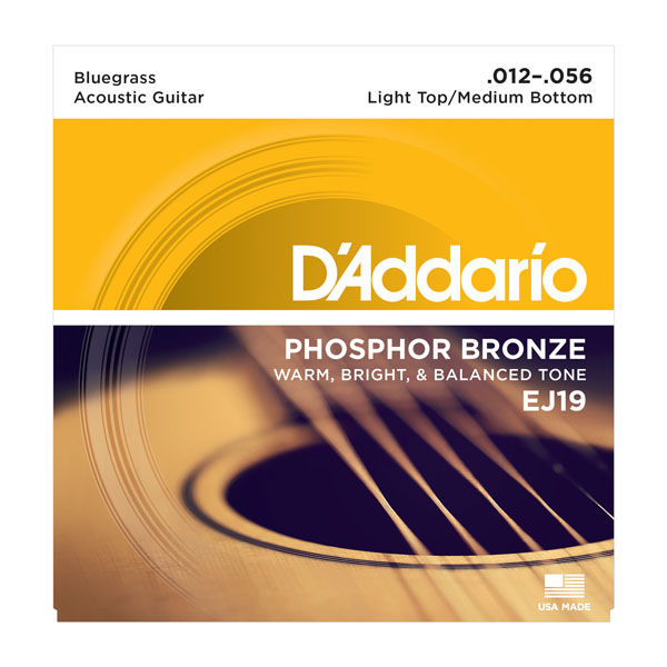 Daddario EJ19 Roundwound Strings Set