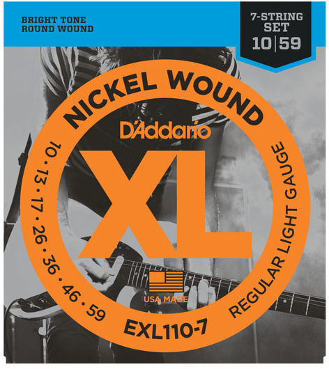 Daddario EXL110-7