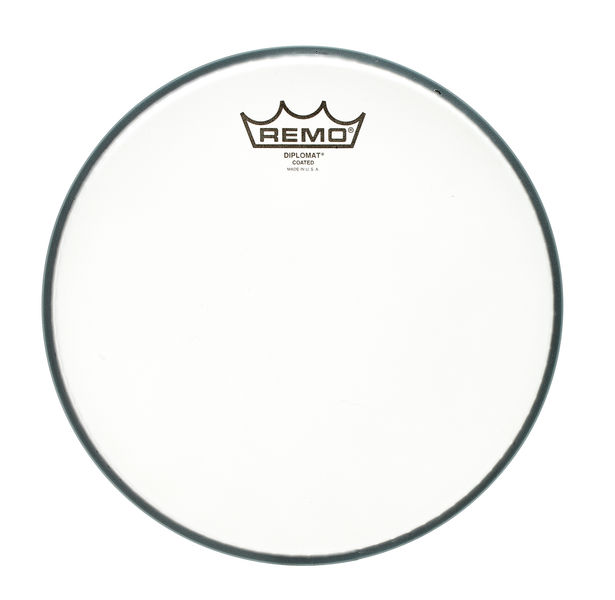 "Remo 10"" Diplomat Coated"
