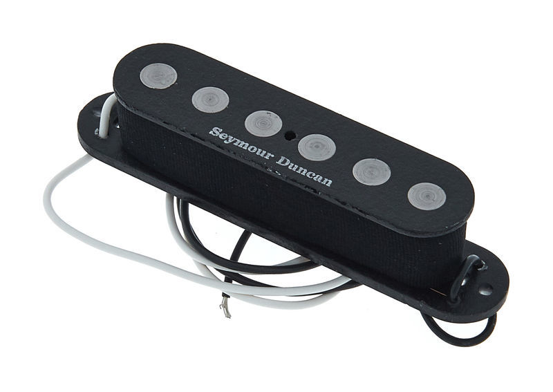 Black Reverse Wound Seymour Duncan SSL-3 Hot Single Coil Alnico 5 Strat Pickup
