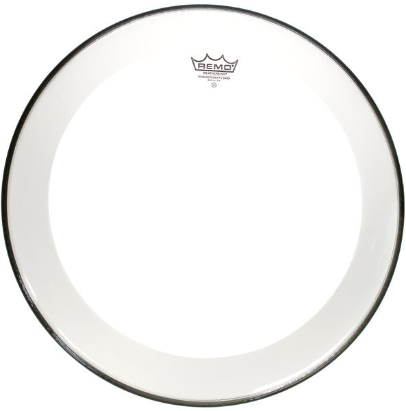 "Remo 22"" Powerstroke 4 Clear Bass"