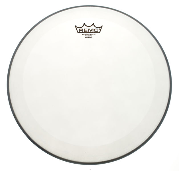 "Remo 14"" Powerstroke 4 White Dot"