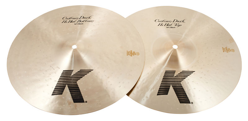 "Zildjian 14"" K-Custom Dark Hi-Hat"