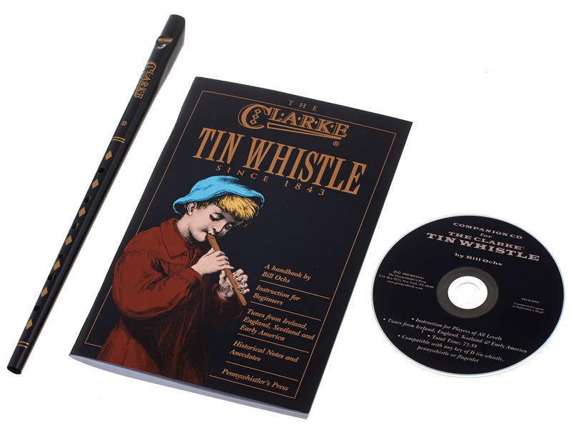 Clarke Tin Whistle Set