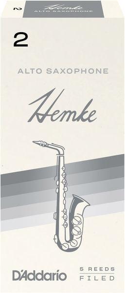 Daddario Woodwinds Hemke Alto Saxophone Reed 2