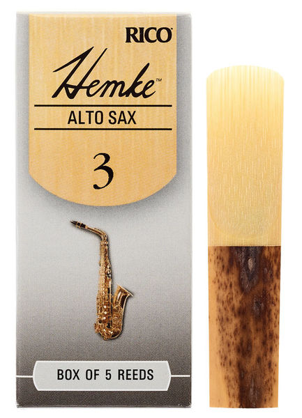 DAddario Woodwinds Hemke Alto Saxophone Reed 3