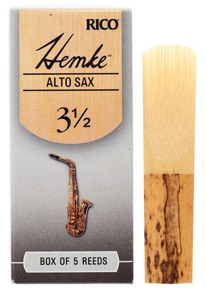 DAddario Woodwinds Hemke Alto Saxophone Reed 3,5