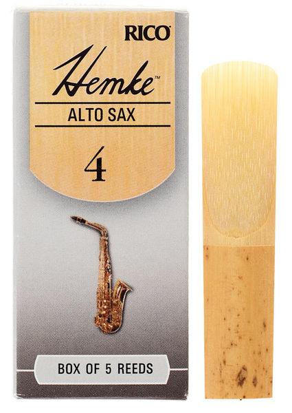 DAddario Woodwinds Hemke Alto Saxophone Reed 4