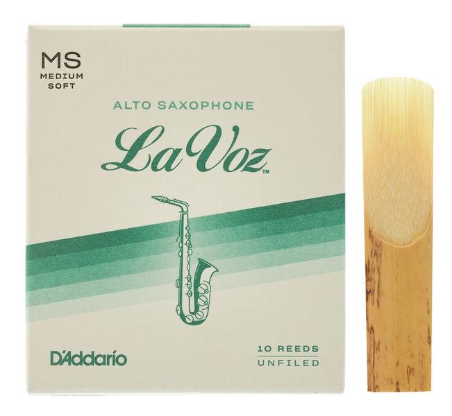 DAddario Woodwinds La Voz Alto Saxophone MS