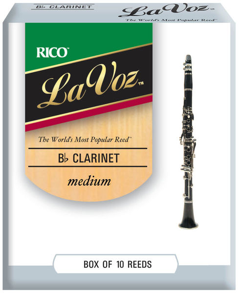 Daddario Woodwinds La Voz Bb- Clarinet M