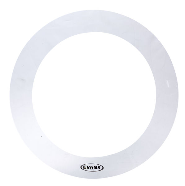 "Evans E-Ring 15"" Clear Tom"