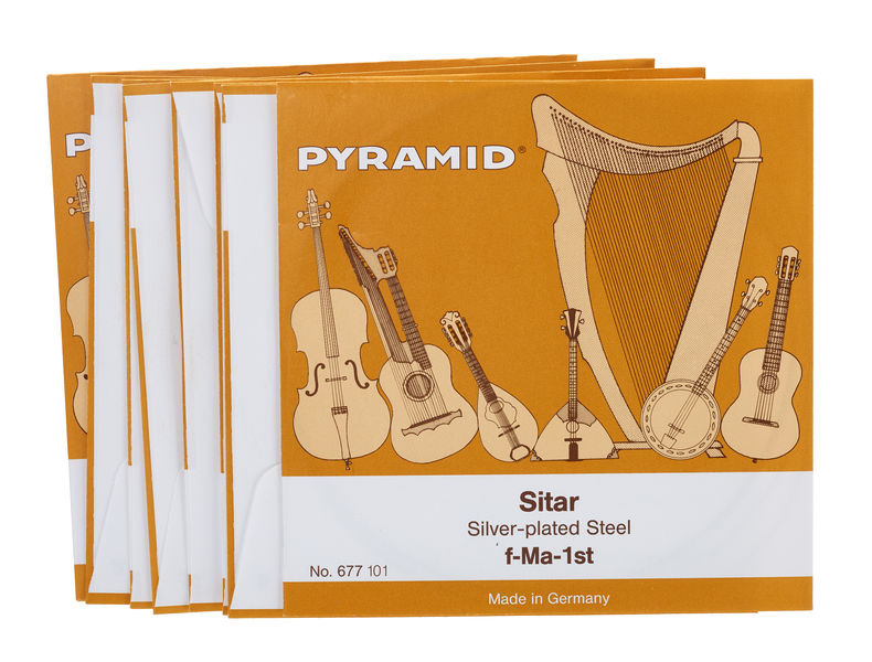 Pyramid Sitar-Strings 677/18