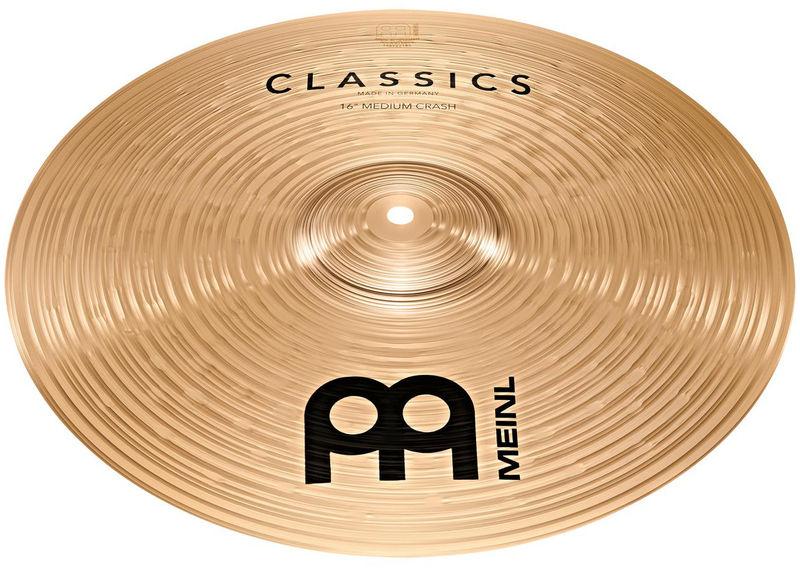 "Meinl 16"" Classics Thin Crash"