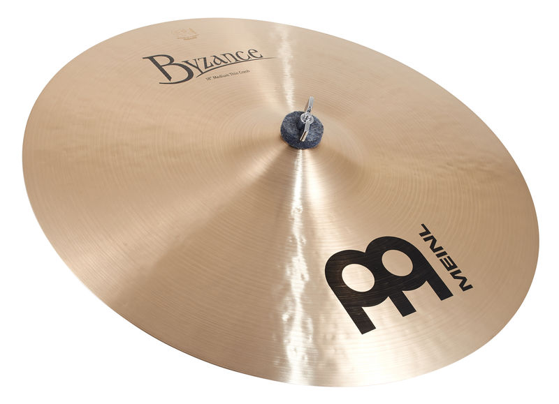 "Meinl 18"" Byzance Medium Thin Crash"