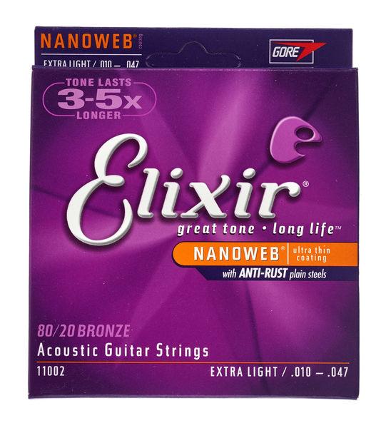Elixir Nanoweb Extra Light Acoustic