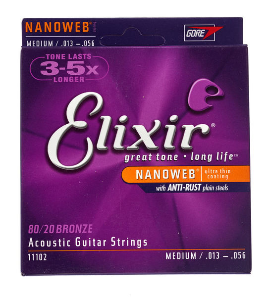 Elixir Nanoweb Medium Acoustic