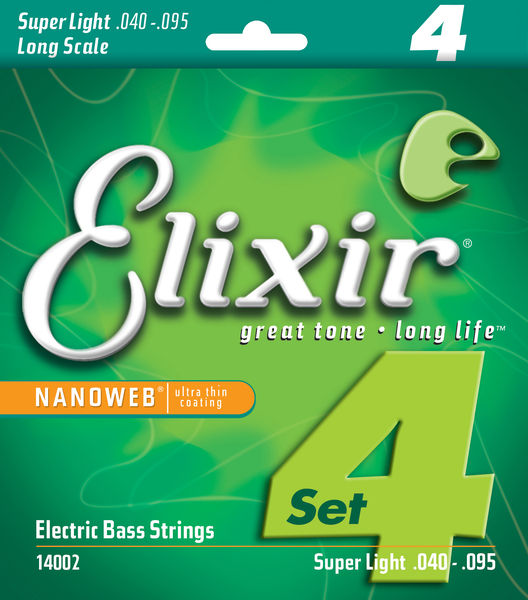 Elixir Nanoweb Super Light BassGuitar