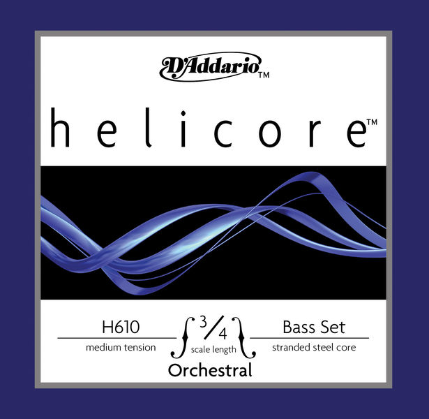 Daddario H610-3/4M Helicore Bass 3/4