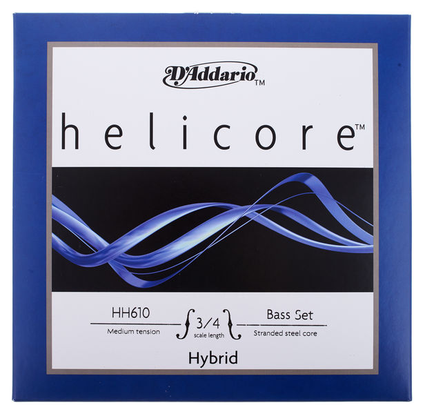 HH610-3/4M Helicore Bass 3/4 Daddario